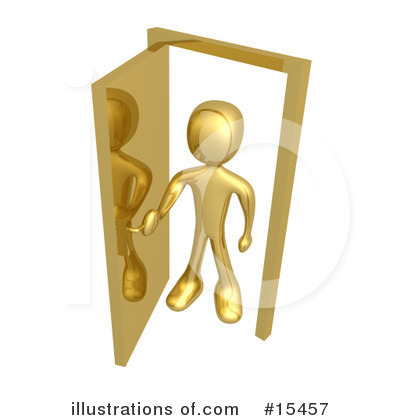 Door Clipart #15457 by 3poD