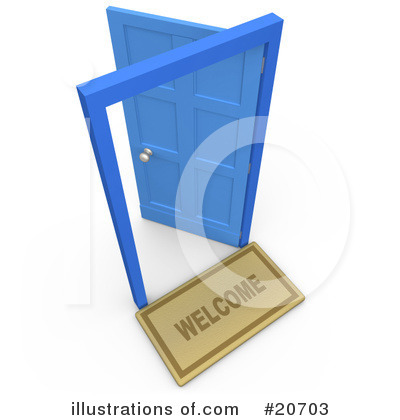 Door Clipart #20703 by 3poD