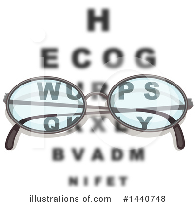 Royalty-Free (RF) Optometry Clipart Illustration by colematt - Stock Sample #1440748