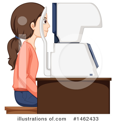 Optometry Clipart #1462433 by Graphics RF