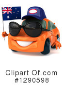 Orange Car Clipart #1290598 by Julos