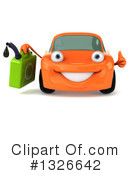 Orange Car Clipart #1326642 by Julos