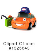Orange Car Clipart #1326643 by Julos