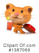Orange Cat Clipart #1387069 by Julos