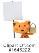 Orange Cat Clipart #1646222 by Julos