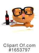 Orange Cat Clipart #1653797 by Julos