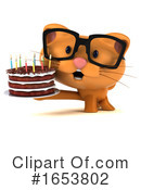 Orange Cat Clipart #1653802 by Julos
