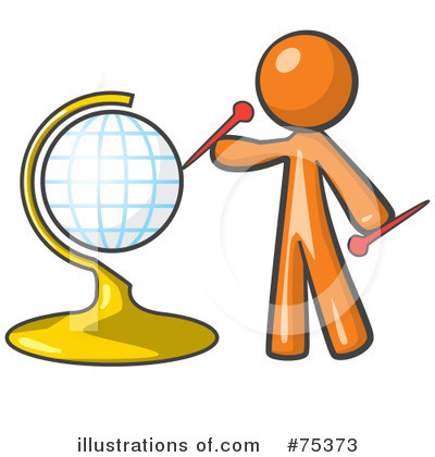 Globe Clipart #75373 by Leo Blanchette