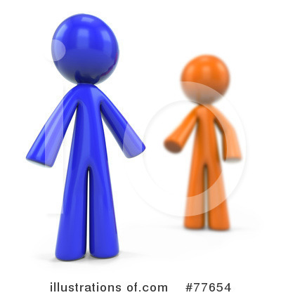 Royalty-Free (RF) Orange Collection Clipart Illustration by Leo Blanchette - Stock Sample #77654