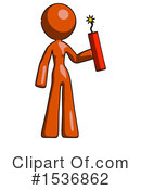 Orange Design Mascot Clipart #1536862 by Leo Blanchette