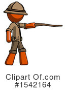 Orange Design Mascot Clipart #1542164 by Leo Blanchette