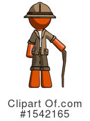 Orange Design Mascot Clipart #1542165 by Leo Blanchette