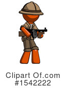 Orange Design Mascot Clipart #1542222 by Leo Blanchette
