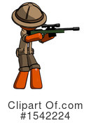 Orange Design Mascot Clipart #1542224 by Leo Blanchette