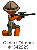 Orange Design Mascot Clipart #1542225 by Leo Blanchette