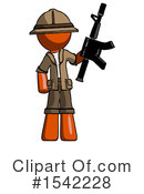 Orange Design Mascot Clipart #1542228 by Leo Blanchette