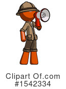 Orange Design Mascot Clipart #1542334 by Leo Blanchette