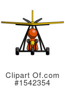 Orange Design Mascot Clipart #1542354 by Leo Blanchette