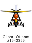 Orange Design Mascot Clipart #1542355 by Leo Blanchette