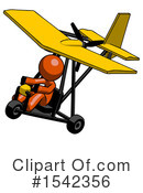 Orange Design Mascot Clipart #1542356 by Leo Blanchette