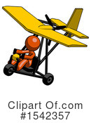 Orange Design Mascot Clipart #1542357 by Leo Blanchette