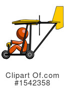 Orange Design Mascot Clipart #1542358 by Leo Blanchette