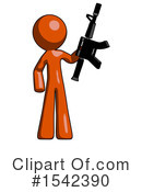 Orange Design Mascot Clipart #1542390 by Leo Blanchette