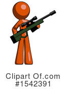 Orange Design Mascot Clipart #1542391 by Leo Blanchette