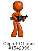 Orange Design Mascot Clipart #1542396 by Leo Blanchette