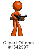 Orange Design Mascot Clipart #1542397 by Leo Blanchette