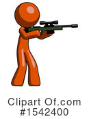 Orange Design Mascot Clipart #1542400 by Leo Blanchette