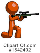 Orange Design Mascot Clipart #1542402 by Leo Blanchette