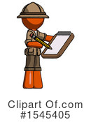Orange Design Mascot Clipart #1545405 by Leo Blanchette