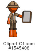 Orange Design Mascot Clipart #1545408 by Leo Blanchette