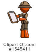 Orange Design Mascot Clipart #1545411 by Leo Blanchette