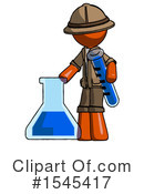 Orange Design Mascot Clipart #1545417 by Leo Blanchette