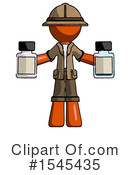 Orange Design Mascot Clipart #1545435 by Leo Blanchette