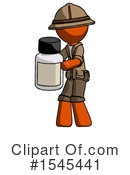 Orange Design Mascot Clipart #1545441 by Leo Blanchette