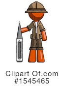 Orange Design Mascot Clipart #1545465 by Leo Blanchette