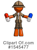 Orange Design Mascot Clipart #1545477 by Leo Blanchette