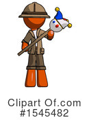 Orange Design Mascot Clipart #1545482 by Leo Blanchette