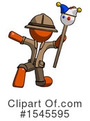 Orange Design Mascot Clipart #1545595 by Leo Blanchette