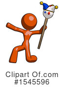 Orange Design Mascot Clipart #1545596 by Leo Blanchette