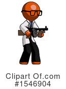Orange Design Mascot Clipart #1546904