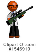 Orange Design Mascot Clipart #1546919 by Leo Blanchette