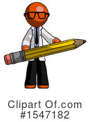 Orange Design Mascot Clipart #1547182 by Leo Blanchette