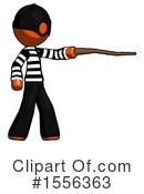 Orange Design Mascot Clipart #1556363 by Leo Blanchette