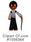 Orange Design Mascot Clipart #1556364 by Leo Blanchette