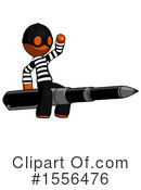 Orange Design Mascot Clipart #1556476 by Leo Blanchette