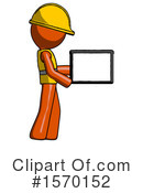 Orange Design Mascot Clipart #1570152 by Leo Blanchette